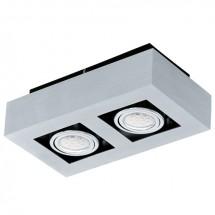Plafon 2 Focos LED Loke 1 91353