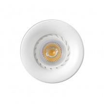 Neon Empotrable Redondo Blanco Led 43399
