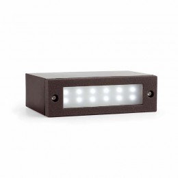 Indi-1 Empotrable Gris Oscuro Led 1W 6500K 70632