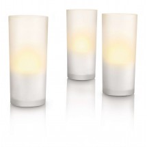 Pack 3 Velas LED Candlelights Cristal 6910860PH