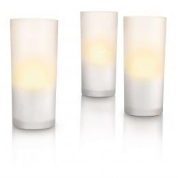 Pack 3 Velas LED Candlelights Cristal 6910860PH